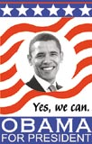 Obama flag poster - link to free download